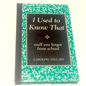 I Used to Know That by Caroline Taggart